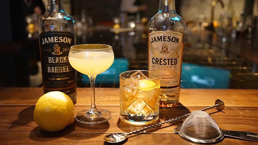 Коктейли с Jameson