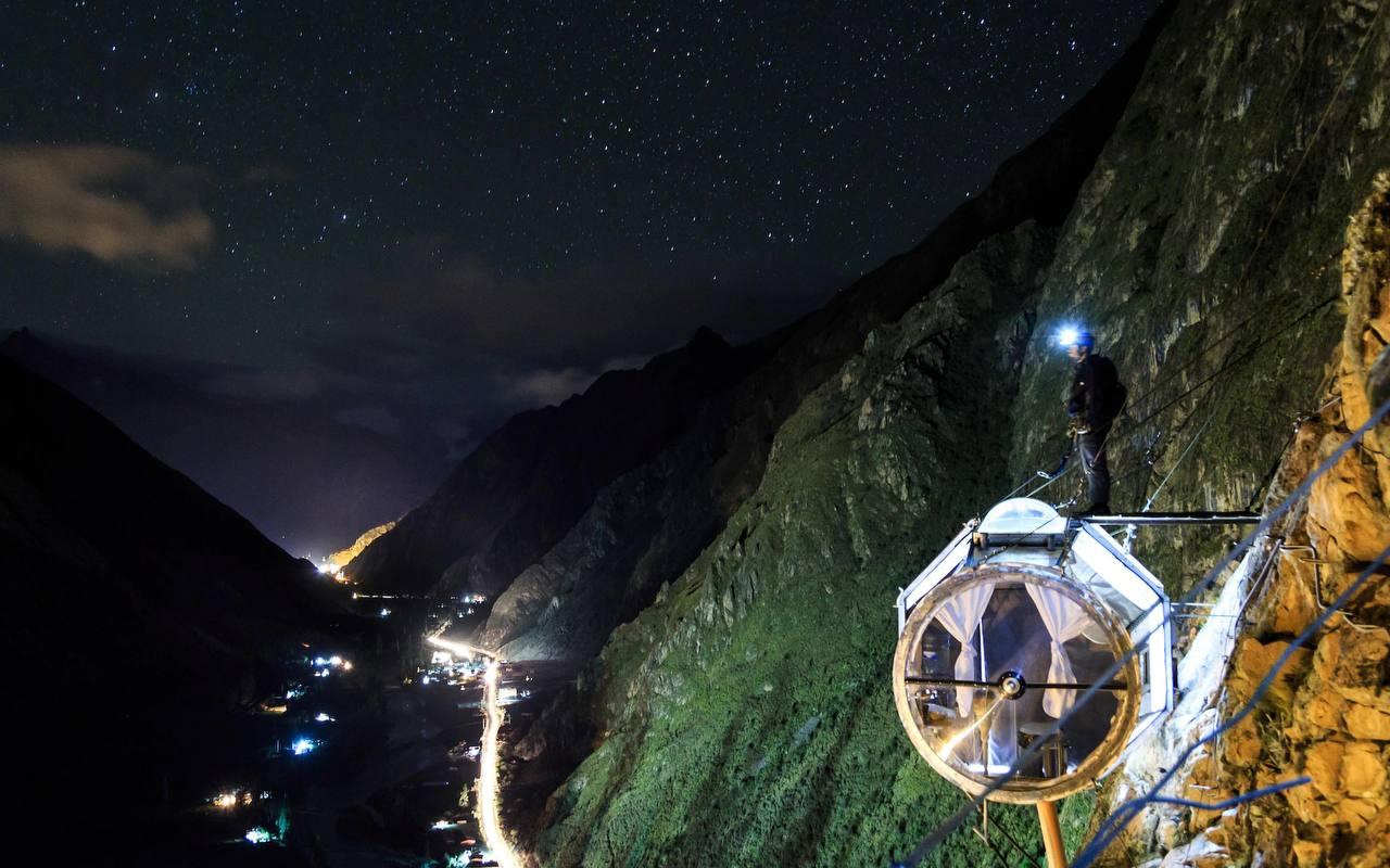 Skylodge Adventure Suites, Священная долина, Перу
