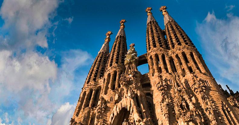 Sagrada Familia Гауди