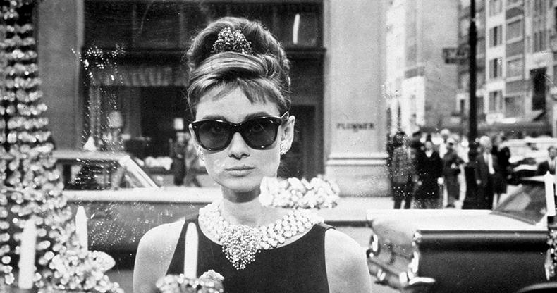 Audrey Hepburn and Ray-Ban
