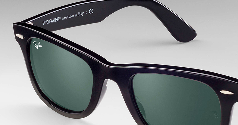 Ray-Ban - Hand made in Italy
