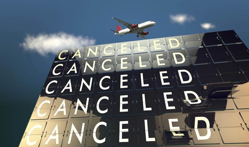 Отмененный рейс