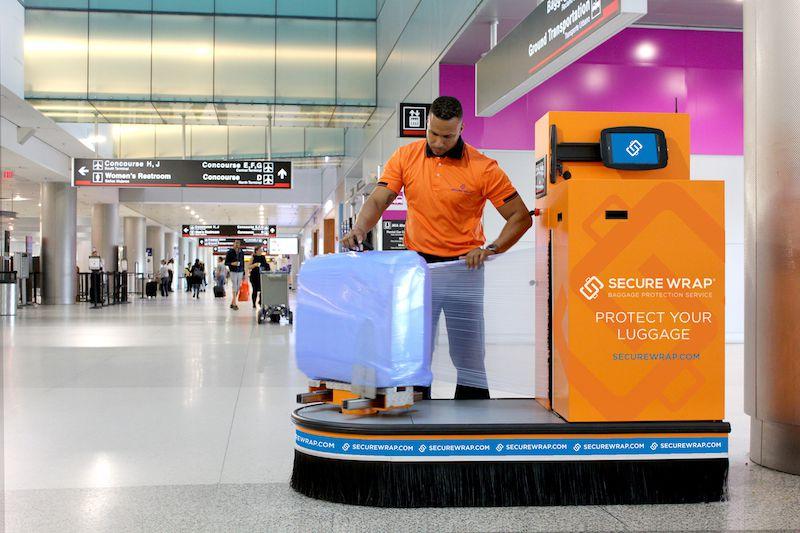 обматывание багажа пленкой