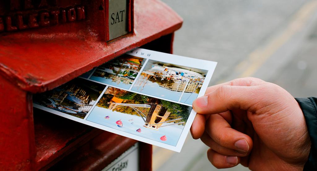 Отправьте себе открытку