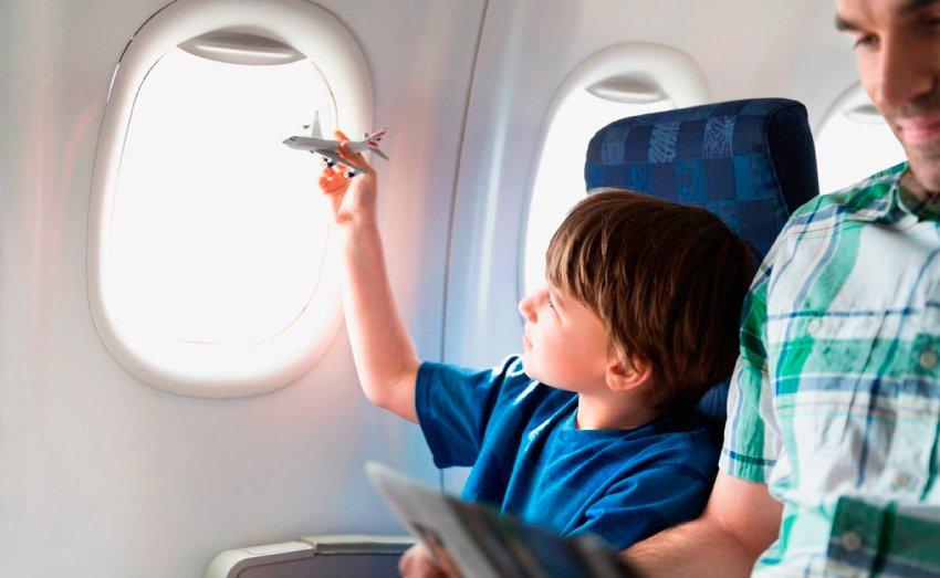 Ребёнок боится лететь на самолете
