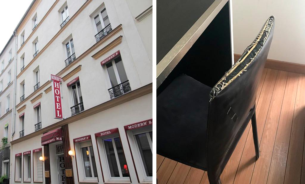 Modern's Hotel Paris отель